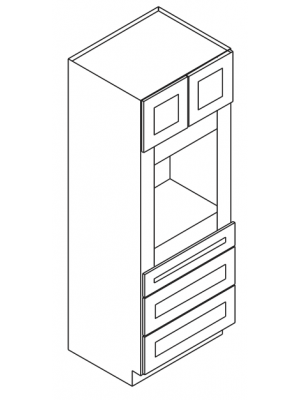 Thumbnail Image of OC3396B Uptown White (TW) - Tall Oven Cabinet