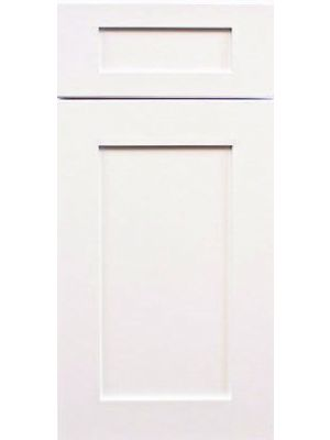 Thumbnail Image of SAMPKD Ice White Shaker (AW) - Kitchen Cabinet Sample Door