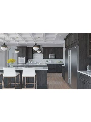 TS-KTC-KIT 10x10 Kitchen Cabinets Collection Kit - RTA  | Townsquare Grey Door Style by TSG Forevermark Cabinetry