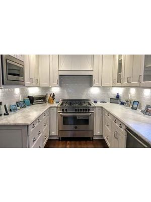 Thumbnail Image of TW-Uptown-White Uptown White (TW) - 10x10 Kitchen Cabinets Collection Kit - RTA