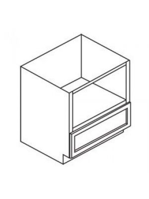 Small Image of B30MW Ice White Shaker (AW) - Microwave Base Cabinet