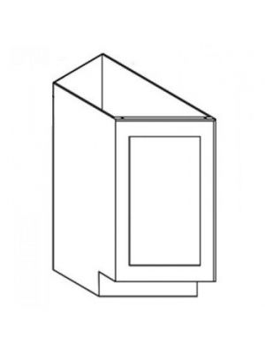 Small Image of BTC12R Ice White Shaker (AW) - Base Transitional Cabinet Right
