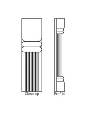 Small Image of CFC96 Signature Pearl (SL) - Trimmable Pilaster