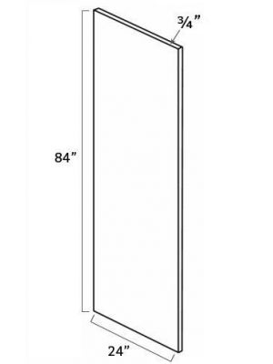 Small Image of REP2484 Ice White Shaker (AW) - Refrigerator End Panel