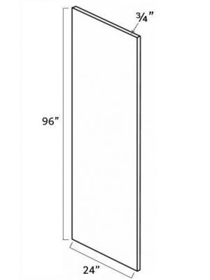 Small Image of REP2496 Gramercy White (GW) - Refrigerator End Panel