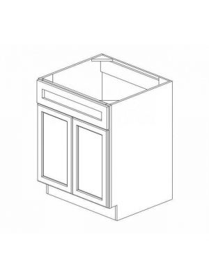 Small Image of SB27B Ice White Shaker (AW) - Sink Base Cabinet