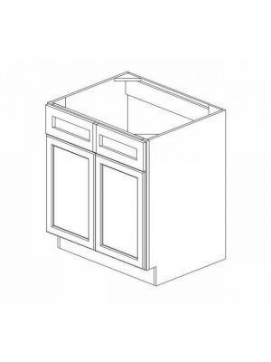 Small Image of SB30B Ice White Shaker (AW) - Sink Base Cabinet
