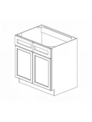 Small Image of SB33B Ice White Shaker (AW) - Sink Base Cabinet
