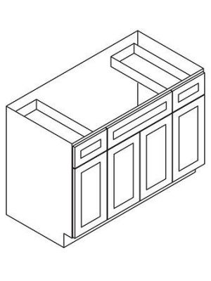 Small Image of SB60B K-Espresso (KE) - Sink Base Cabinet