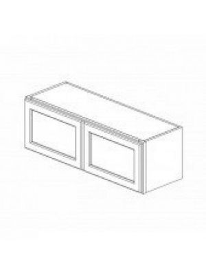 Small Image of W3612B Ice White Shaker (AW) - Double Door Wall Cabinet