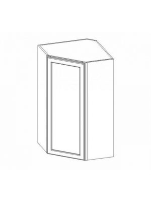 Small Image of WDC2442 Nova Light Grey Shaker (AN) - Wall Diagonal Corner Cabinet