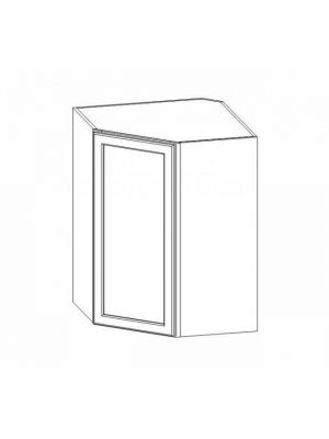 Small Image of WDC273615 Ice White Shaker (AW) - Wall Diagonal Corner Cabinet