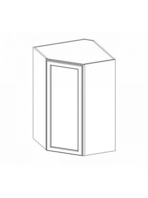 Small Image of WDC274215 Ice White Shaker (AW) - Wall Diagonal Corner Cabinet