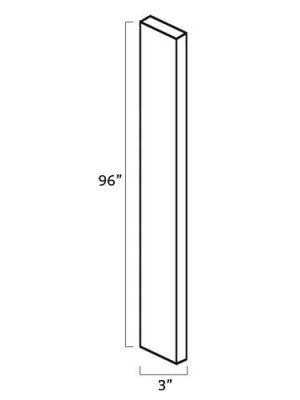 Small Image of WF396 Uptown White (TW) - Tall Wall Filler