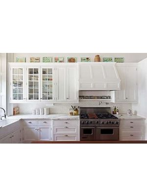 Small Image of GW-Gramercy-White Gramercy White (GW) - 10x10 Kitchen Cabinets Collection Kit - RTA