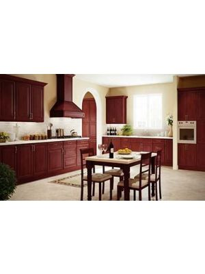 Small Image of KC-K-Cherry-Glaze K-Cherry Glaze (KC) - 10x10 Kitchen Cabinets Collection Kit - RTA