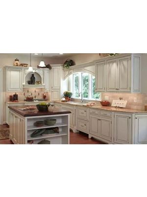Small Image of SL-Signature-Pearl Signature Pearl (SL) - 10x10 Kitchen Cabinets Collection Kit - RTA