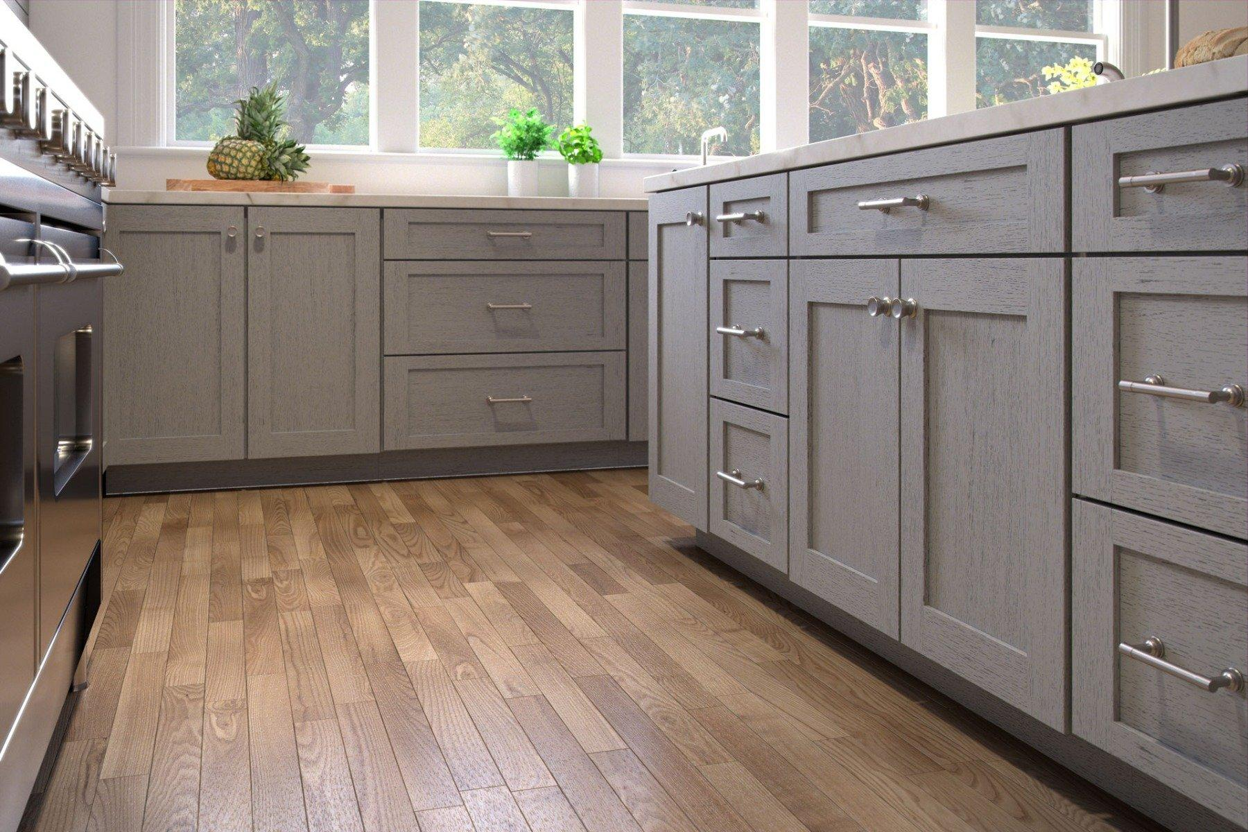 Nova Light Grey Shaker Door Style Kitchen Cabinets
