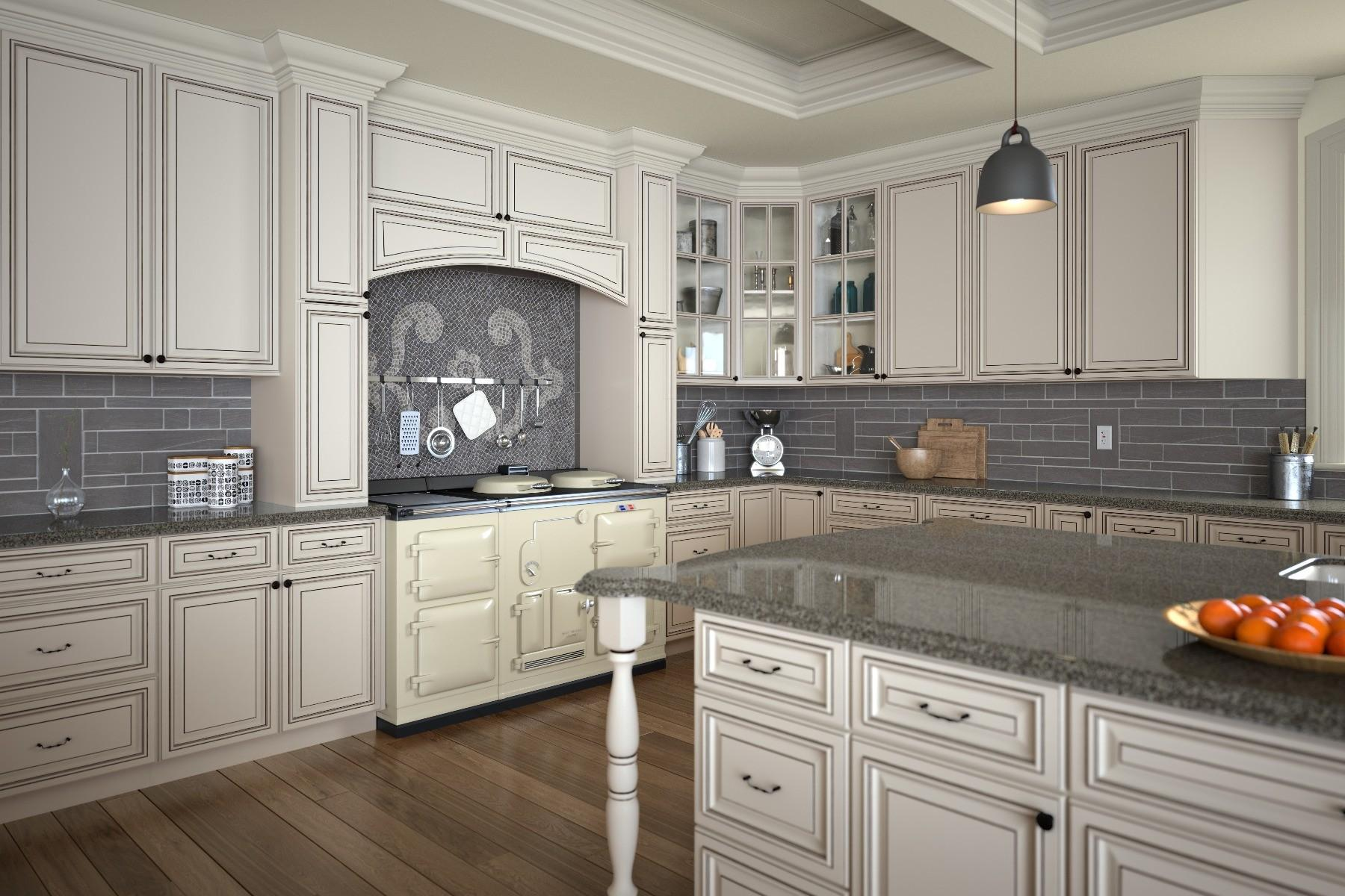 Signature Pearl Door Style Kitchen Cabinets