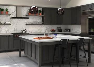 Forevermark Midtown Grey Cabinets