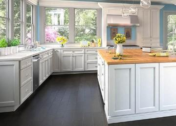 Forevermark Uptown White Cabinets
